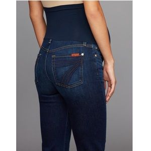7 For All Mankind Maternity Dojo Jeans